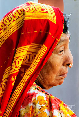 Photograph - The Kuna Indian From Panama by Rene Triay Photography