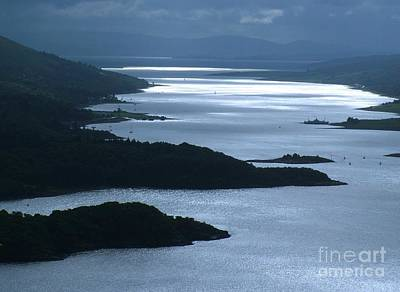 The Kyles Of Bute Print by Joan-Violet Stretch