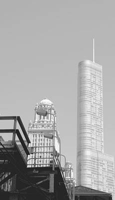 Photograph - The L  And Trump Tower by Caroline Stella