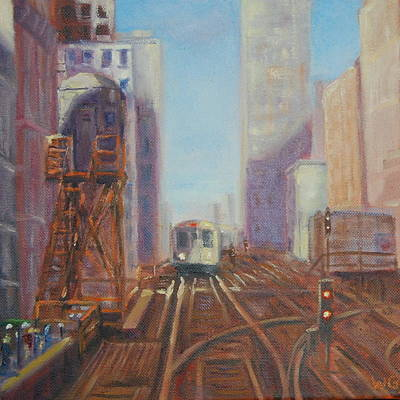 Painting - The L by Will Germino