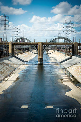 The La River Art Print