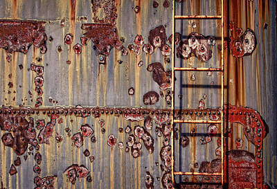 Rusted Photograph - The Ladder by Marcia Colelli