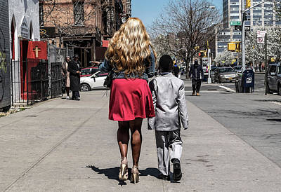 Harlem Photograph - The Lady And Her Gentleman by Pablo Abreu