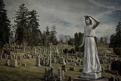 Final Resting Place Photograph - The Lady Of Perpetual Care by Jemmy Archer