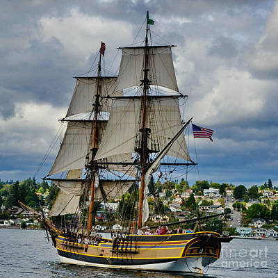 Photograph - The Lady Washington by Ansel Price