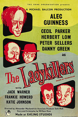The Ladykillers - 1955 Art Print by Georgia Fowler