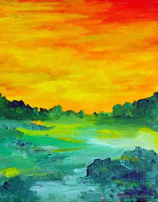The  Lagoon Art Print