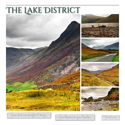 Photograph - The Lake District Autumn 2 by Joan-Violet Stretch