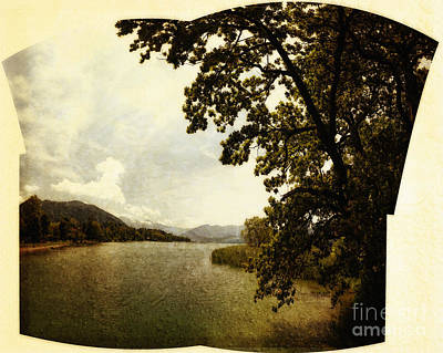 Photograph - The Lake by Edmund Nagele