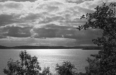 Photograph - The Lake In Black And White by Jane Eleanor Nicholas