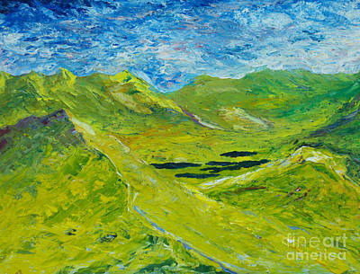 Painting - The Lakes Of Killarney  Original Sold by Conor Murphy