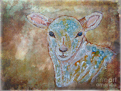Painting - the Lamb by Ella Kaye Dickey