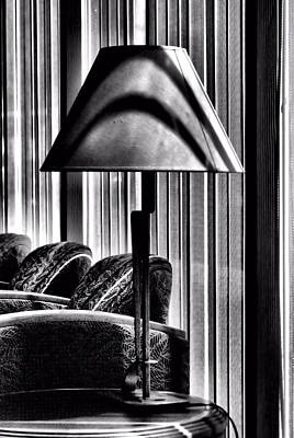The Lamp In The Lobby Art Print by Bob Wall