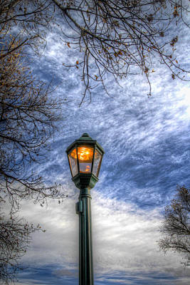Wall Art - Photograph - The Lamp Post by G Wigler
