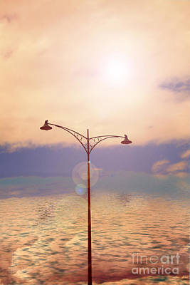 The Lampost Art Print