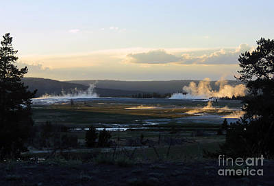 Photograph - The Land Of Geysers. Yellowstone by Ausra Huntington nee Paulauskaite
