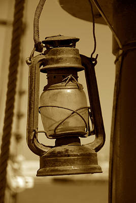 Photograph - The Lantern 3 by Richard J Cassato
