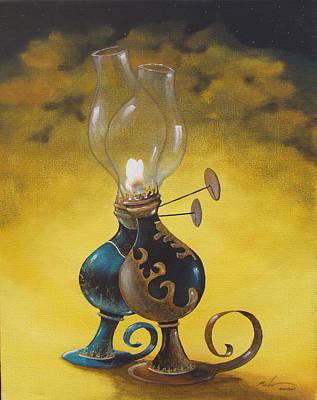 The Lanterns Art Print by Kevin Escobar