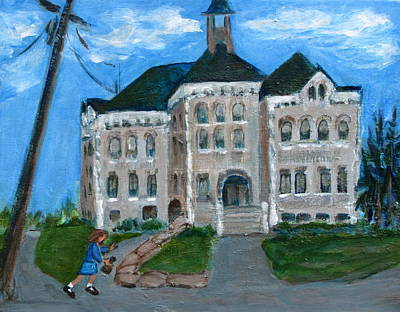 The Last Bell At West Hill School Art Print