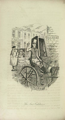 The Last Cabdriver Print by British Library