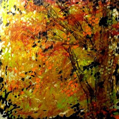 The Last Days Of Autumn Art Print by Cheryl Lynn Looker