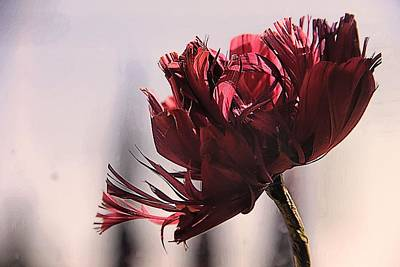 the Last Flower Art Print