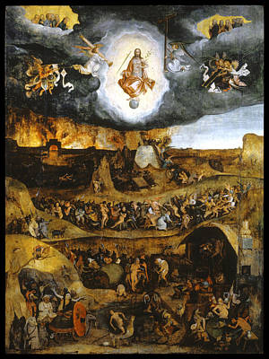 Judgment Painting - The Last Judgment by Pieter Huys
