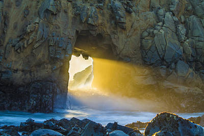 Portal Photograph - The Last Light by Jeremy Jensen