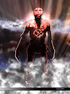 Digital Art - The Last Man by A Dx