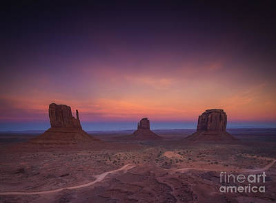 Southwest Desert Photograph - The Last Of Daylight by Marco Crupi