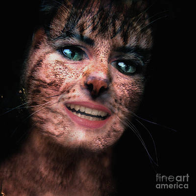 Photograph - The Last Of The Cat Women by Ginette Callaway