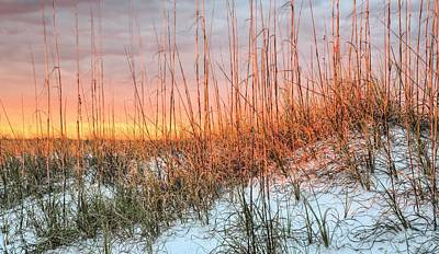 Navarre Photograph - The Last Rays by JC Findley