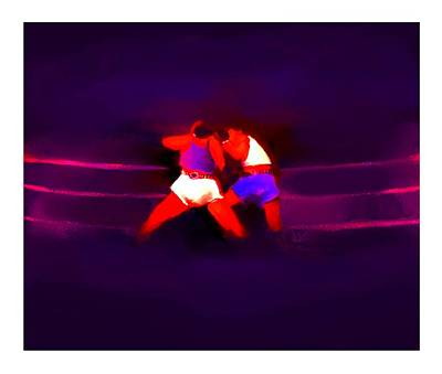 Punch Mixed Media - The Last Round  2 B by Diane Strain