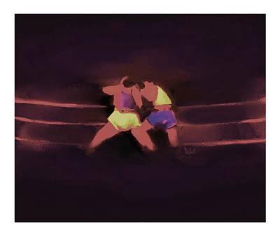 The Last Round  6 B Art Print by Diane Strain