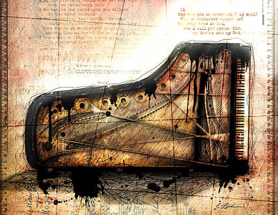 The Last Sonata Art Print by Gary Bodnar
