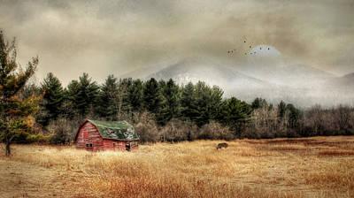 Barn Digital Art - The Last Stand 2 by Lori Deiter