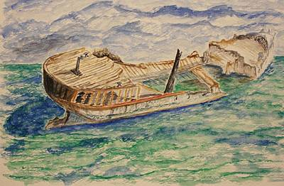Paul Morgan Painting - The Last Storm by Paul Morgan