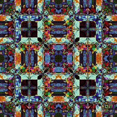 The Last Supper Abstract 20130130p0 Print by Wingsdomain Art and Photography