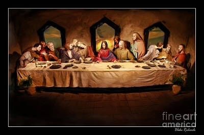 The Last Supper Art Print by Blake Richards