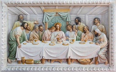 Photograph - The Last Supper by Fran Riley