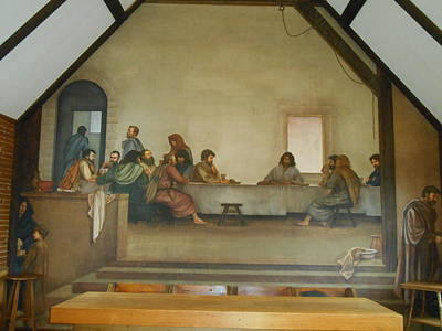 Photograph - The Last Supper Frescoe  by Diannah Lynch