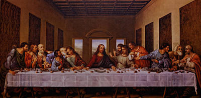 Body Of Christ Photograph - The Last Supper by Jonathan Davison