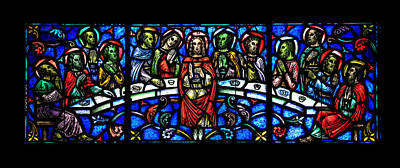 Glass Art Photograph - The Last Supper by Stephen Stookey