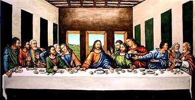 The Last Supper Print by Todd Spaur