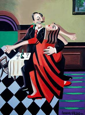 Rumba Painting - The Last Tango by Anthony Falbo