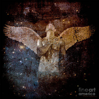 Human Beings Digital Art - The Last Angel  by Mark Ashkenazi