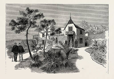 The Late Duke Of Albany The Villa Nevada Cannes Art Print