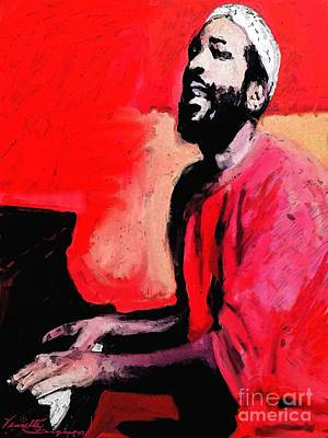 The Late Great Marvin Gaye Art Print