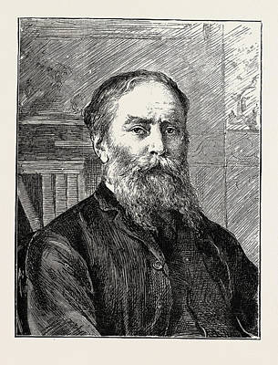 The Late Mr. James Russell Lowell Art Print