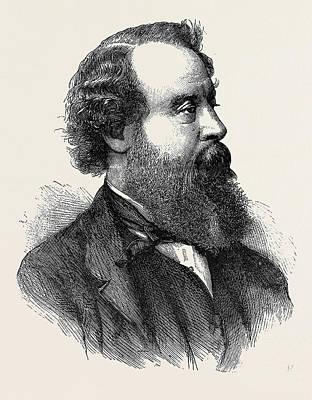 The Late Sir J. Simeon Art Print by English School
